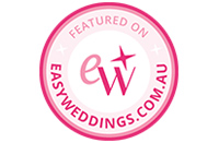 Photo session featured on Easy Weddings!
